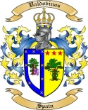 Valdovinos Family Coat of Arms from Spain