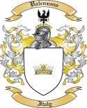 Valenzano Family Crest from Italy
