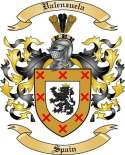 Valenzuela Family Coat of Arms from Spain