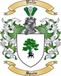 Valle Family Crest from Spain