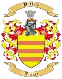 Valleix Family Crest from France