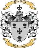 Van Beek Family Crest from Netherlands