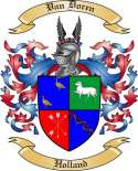 Van Doren Family Coat of Arms from Holland