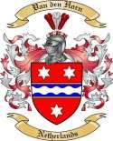 Van den Horn Family Crest from Netherlands