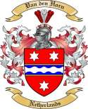 Van den Horn Family Coat of Arms from Netherlands