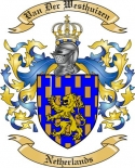 Van der Westhuizen Family Coat of Arms from Netherlands