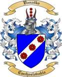 Vanatko Family Crest from Czechoslovakia