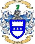 Vanes Family Crest from England