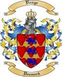 Vange Family Coat of Arms from Denmark