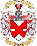Vante Family Crest from Belgium