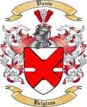 Vante Family Coat of Arms from Belgium