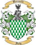 Varanelli Family Coat of Arms from Italy