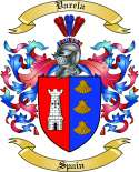 Varela Family Crest from Spain