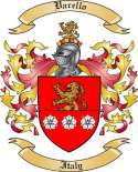 Varello Family Coat of Arms from Italy