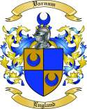 Varnum Family Crest from England