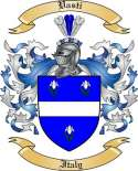 Vasti Family Crest from Italy