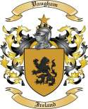 Vaugham Family Crest from Ireland