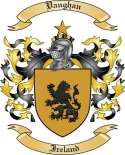 Vaughan Family Crest from Ireland