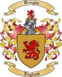 Vaughn Family Crest from England