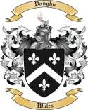 Vaughn Family Crest from Wales2