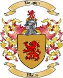 Vaughn Family Crest from Wales