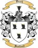 Veach Family Coat of Arms from Scotland