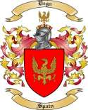 Vega Family Coat of Arms from Spain2