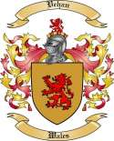 Vehan Family Crest from Wales