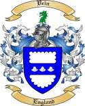 Vein Family Crest from England