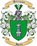 Velasquez Family Crest from Spain3