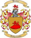 Venter Family Crest from Netherlands