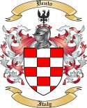 Vento Family Coat of Arms from Italy