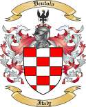 Ventolo Family Coat of Arms from Italy