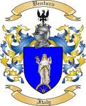 Ventura Family Coat of Arms from Italy