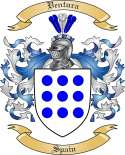 Ventura Family Coat of Arms from Spain