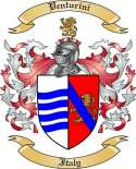 Venturini Family Crest from Italy