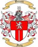 Venutti Family Crest from Italy