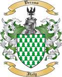 Verano Family Crest from Italy