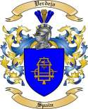 Verdejo Family Crest from Spain