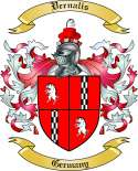 Vernalis Family Crest from Germany