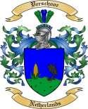 Verschoor Family Crest from Netherlands