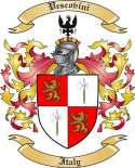 Vescovini Family Crest from Italy2