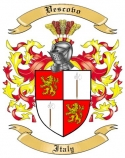 Vescovo Family Coat of Arms from Italy2
