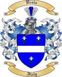Vesta Family Coat of Arms from Italy