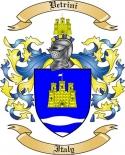Vetrini Family Coat of Arms from Italy