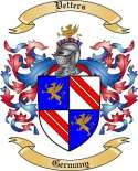 Vetters Family Crest from Germany