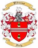 Vidusso Family Coat of Arms from Italy