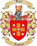 Vigot Family Crest from England