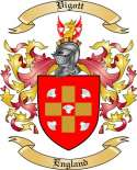Vigott Family Crest from England