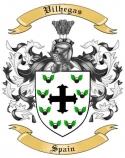 Vilhegas Family Crest from Spain